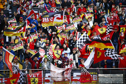 Support for Sebastian Vettel, Ferrari