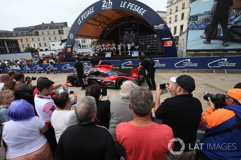 #34 Jackie Chan DC Racing Ligier JSP217 Gibson