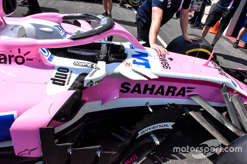 Bargeboards Force India