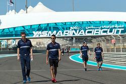 Pascal Wehrlein, Sauber camina en la pista