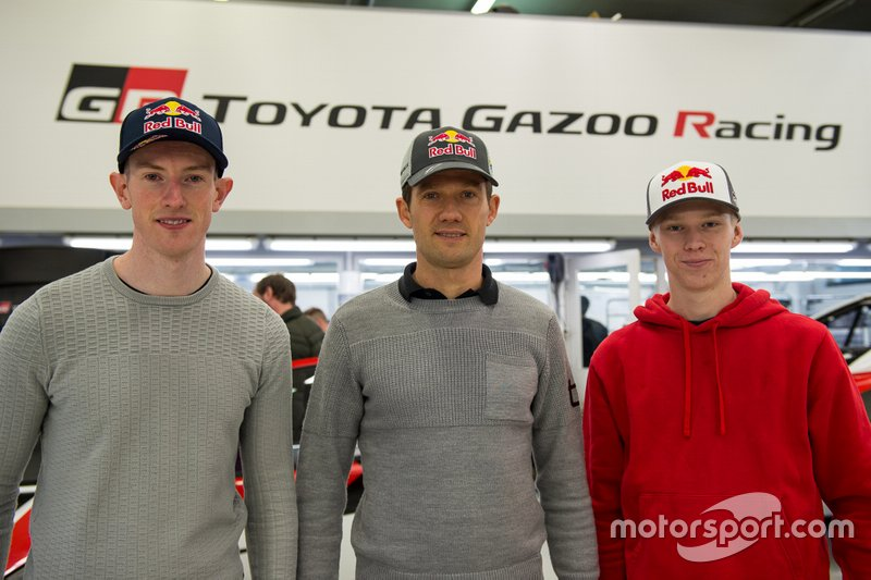 Annuncio piloti Toyota Racing