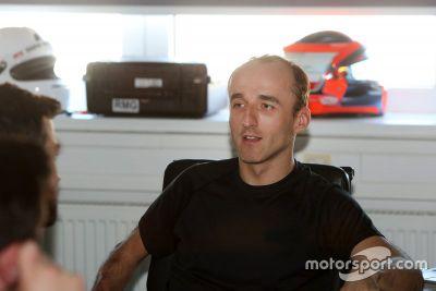 Kubica BMW Motorsport simulator test