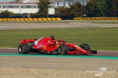 Ferrari Driver Academy testing