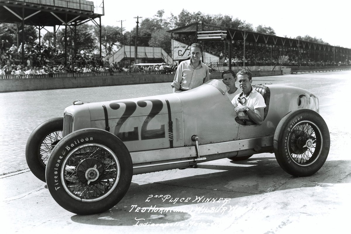 Horn's Harry Hartz-run Wetteroth-Miller finished second in 1936, and led 16 laps.