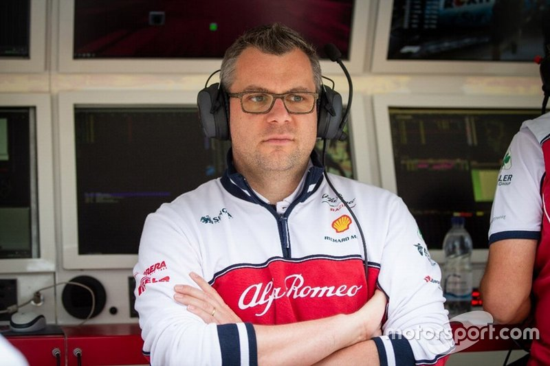 Jan Monchaux, Head of Aerodynamics, Alfa Romeo Racing