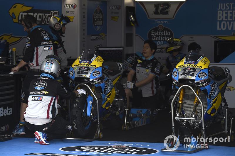 5. Команди Marc VDS на стартовій решітці MotoGP