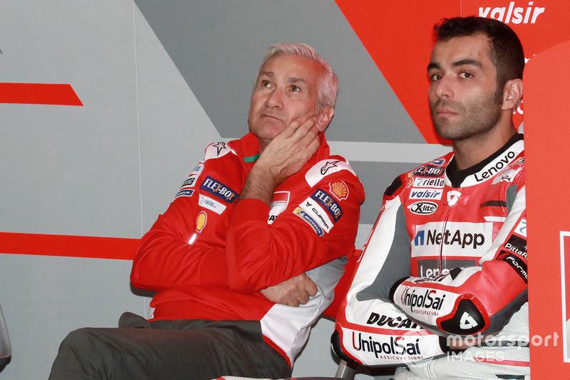 Давіде Тардоцці, керівник команди, Даніло Петруччі, Ducati Team