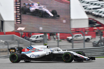 Sergey Sirotkin, Williams FW41 on track and on screen