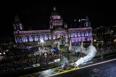 Red Bull Racing Show Run: Belfast
