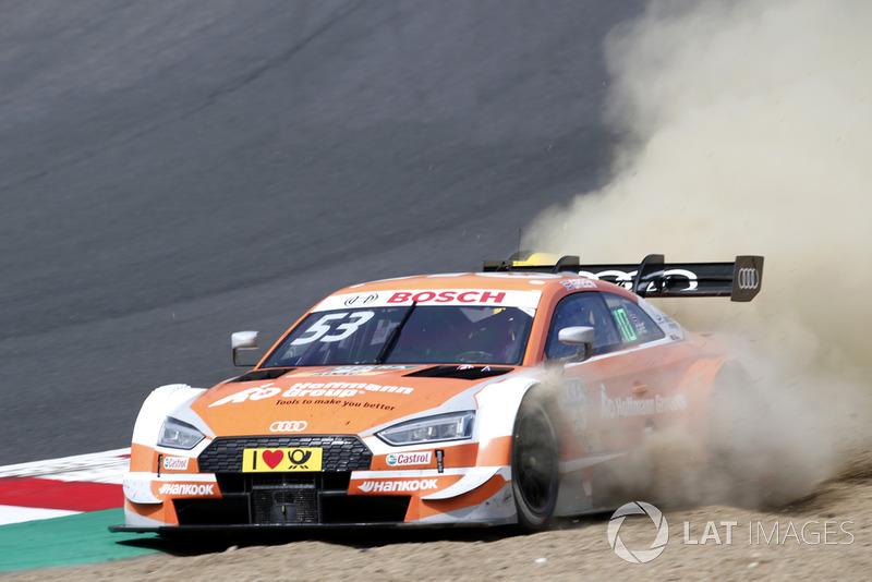Jamie Green, Audi Sport Team Rosberg, Audi RS 5 DTM por la tierra