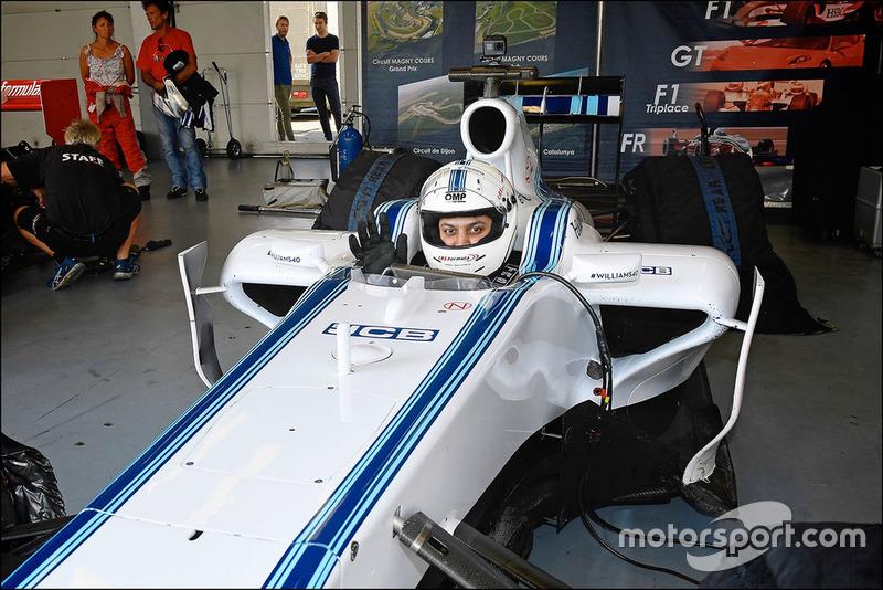 Uji coba F1 Williams