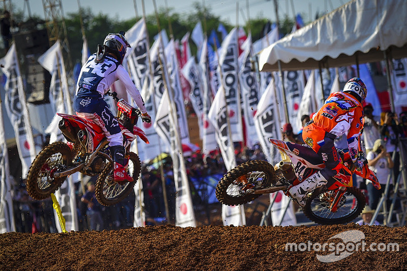 Tim Gajser, Team HRC, Jeffrey Herlings, Red Bull KTM Factory Racing