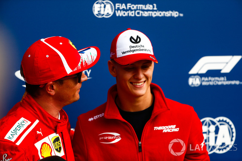 Mick Schumacher in de Grand Prix van Duitsland