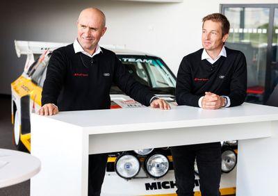Audi sürücüleri tanıtımı