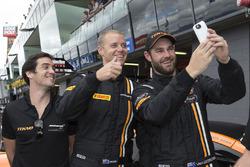 Polesitters #59 Tekno Autosports McLaren 650S: Shane van Gisbergen, Alvaro Parente, Jonathon Webb