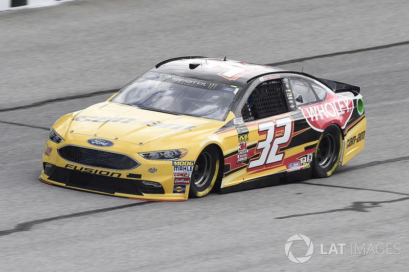 30. Matt DiBenedetto, No. 32 GO FAS Racing Ford Fusion