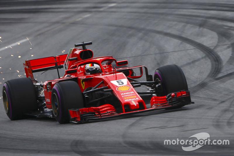 8: Sebastian Vettel: 186 grandes premios (el 85,32% de los disputados)