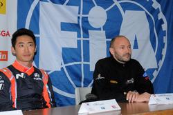 Chewon Lim e Sébastien Carron in Conferenza Stampa