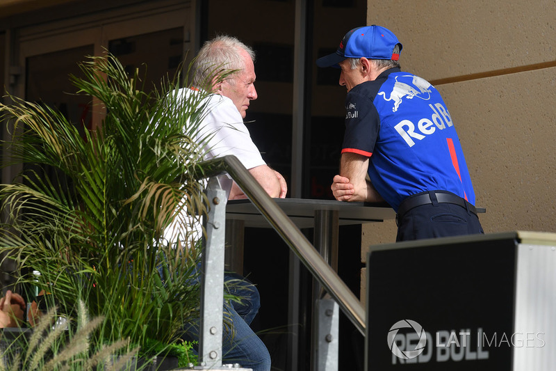 Dr Helmut Marko, Red Bull Motorsport, Franz Tost, Team Principal, Scuderia Toro Rosso