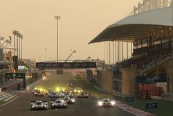 Arrancada #1 Porsche Team Porsche 919 Hybrid: Neel Jani, Andre Lotterer, Nick Tandy