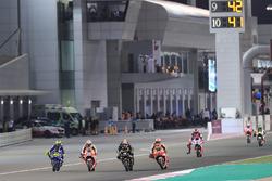 Valentino Rossi, Yamaha Factory Racing, Dani Pedrosa, Repsol Honda Team, Johann Zarco, Monster Yamaha Tech 3, Marc Marquez, Repsol Honda Team