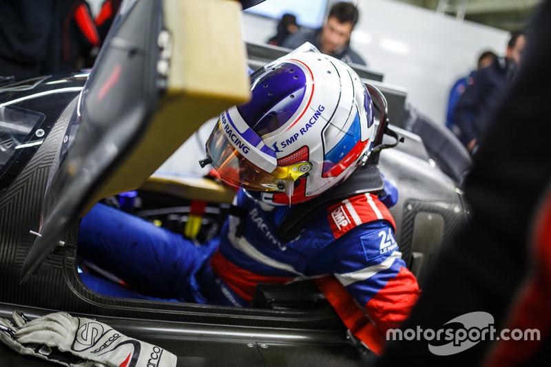 Сергей Сироткин, SMP Racing Dallara BR1 LMP1