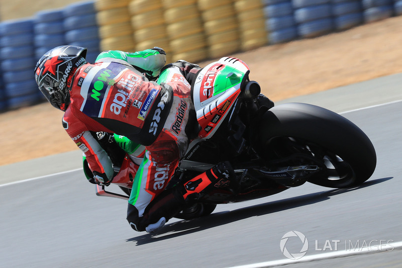 Ausfall: Scott Redding, Aprilia Racing Team Gresini
