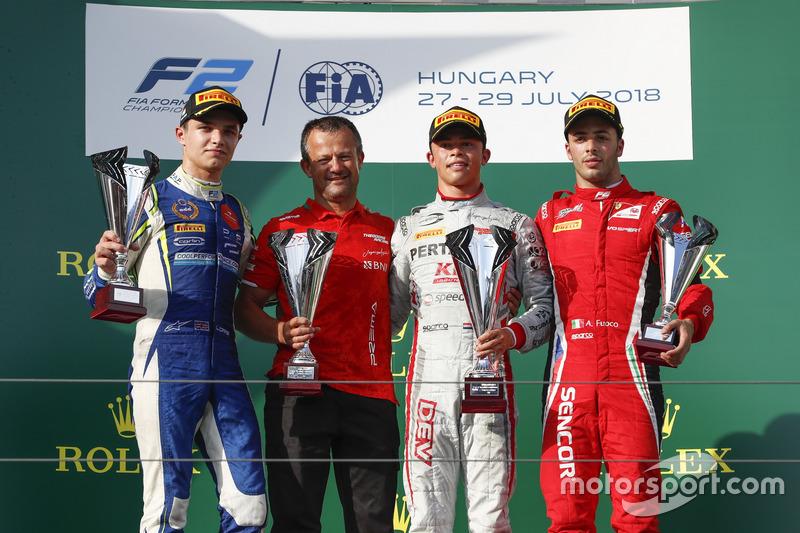 Accroché par Sette Câmara au dernier tour, Antonio Fuoco complétait néanmoins le podium