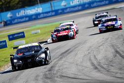 Test delle vetture Super GT e DTM