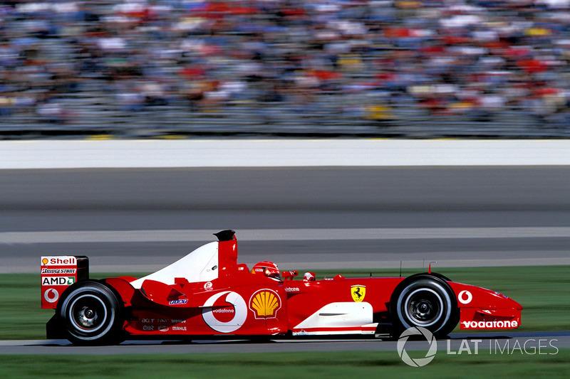 2003 - Indianapolis : Michael Schumacher, Ferrari F2003-GA