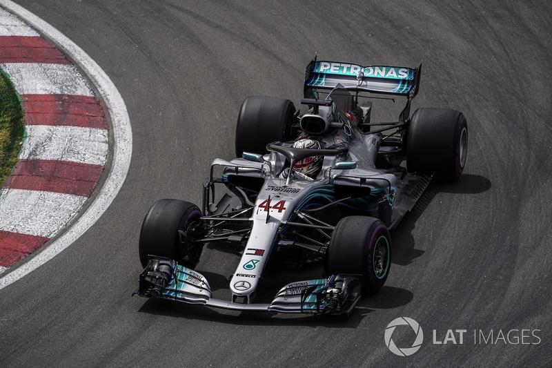 Lewis Hamilton, Mercedes AMG F1 W09