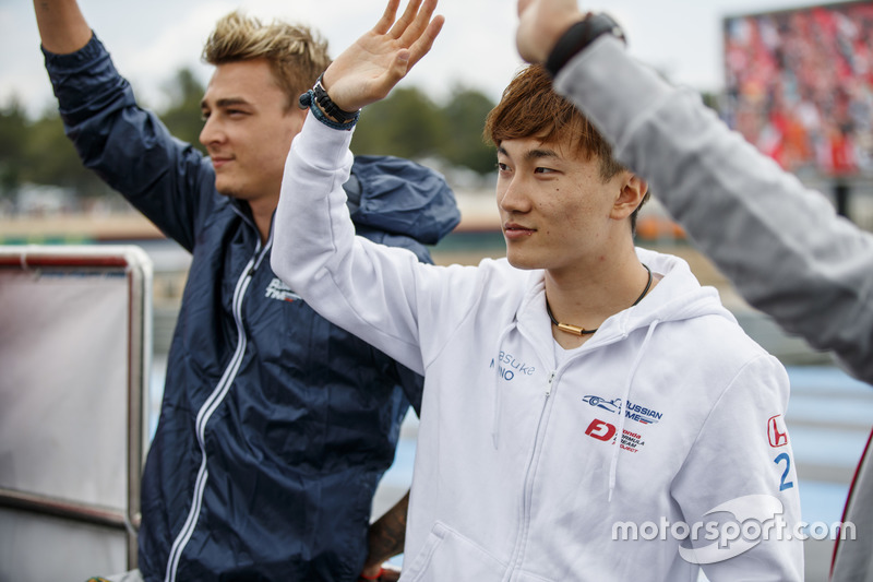 Artem Markelov, RUSSIAN TIME, Tadasuke Makino, RUSSIAN TIME