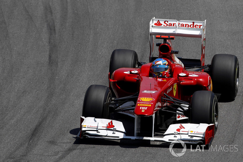 2011: Fernando Alonso, Ferrari 150° Italia