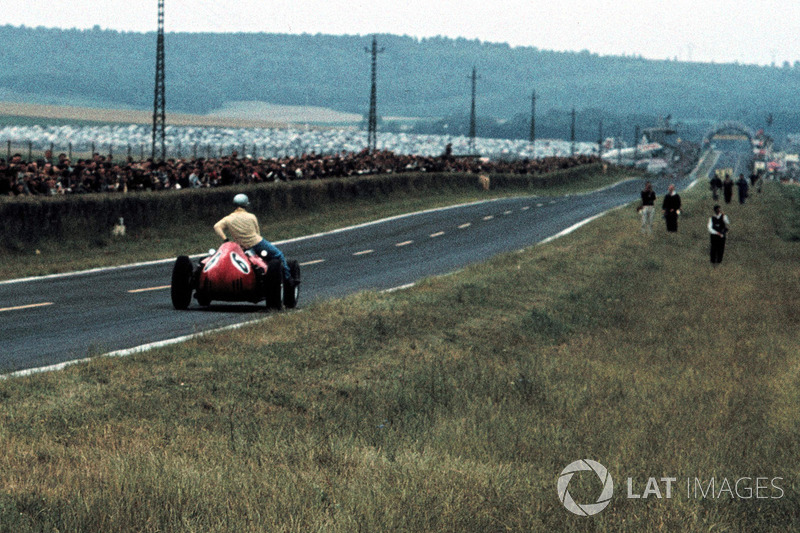 Reims 1960 : Willy Mairesse (Ferrari) - Tony Brooks (Vanwall)