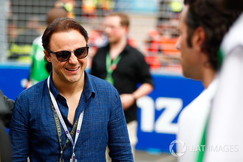 L'ex pilota di Formula 1, Felipe Massa