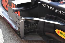 Un déflecteur d'une Red Bull Racing RB14