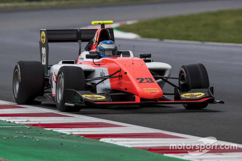Will Palmer a tenté le pari des pneus slicks, sans succès