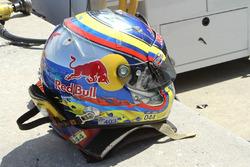 Helmet of Gustavo Yacaman, BAR1 Motorsports