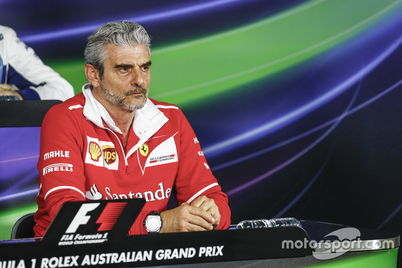 Maurizio Arrivabene, Ferrari,