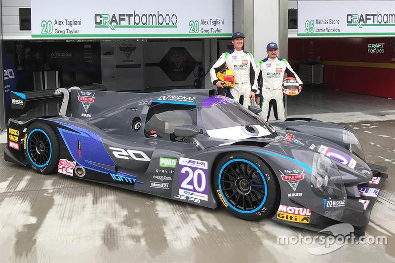 #20 Craft Bamboo Racing Ligier JS P3: Alex Tagliani, Greg Taylor