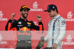 Daniel Ricciardo, Red Bull Racing, Lance Stroll, Williams