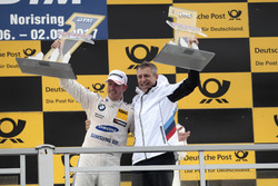 Podium: 1.Maxime Martin, BMW Team RBM, BMW M4 DTM, Bart Mampaey, BMW Team RBM