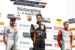 Podium: 1. Felipe Drugovich, Van Amersfoort Racing, 2. Lirim Zendeli, Mücke Motorsport, 3. Juri Vips, Prema Powerteam