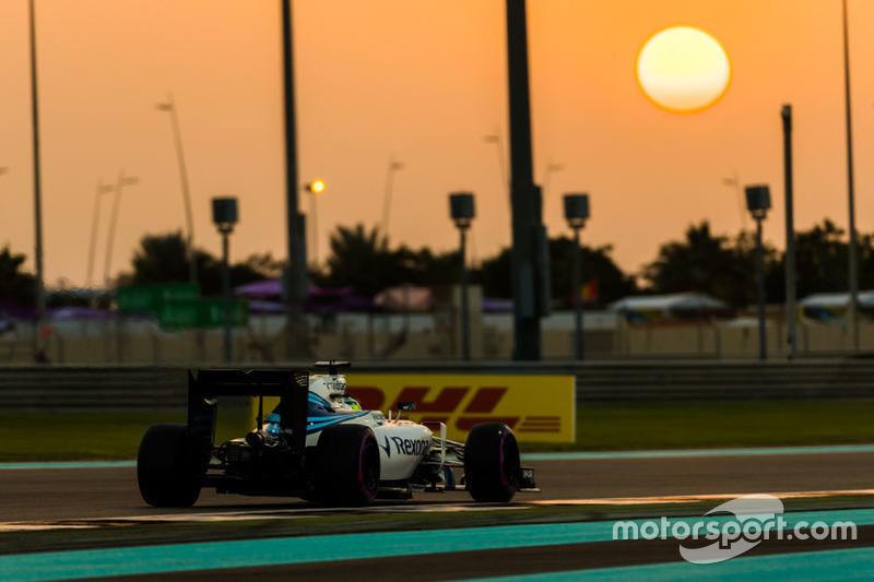 9. Felipe Massa, Williams F1 Team FW38