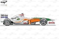 Force India VJM02 side view