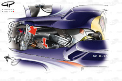Red Bull RB4 2008 Coulthard extra belt
