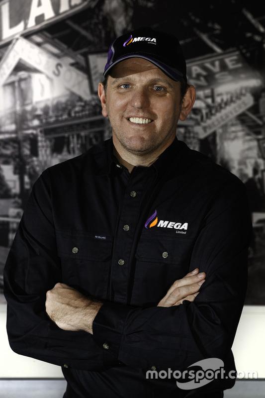 Jason Bright, annonce du sponsor MEGA Limited