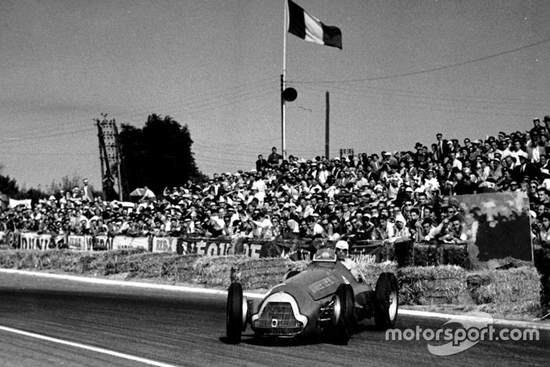 Luigi Fagioli (Ferrari) - GP France 1951