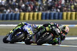 Жоан Зарко, Monster Yamaha Tech 3, и Валентино Росси, Yamaha Factory Racing