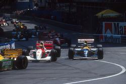 Айртон Сенна, McLaren MP4/8, Деймон Хілл, Williams FW15C Renault